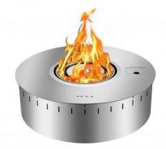 Smart bio-ethanol burner, Round