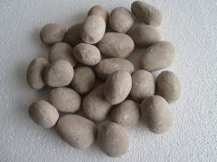 Decorative Ceramic Pebbles, 25 Pcs Sand