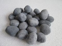 Decorative Ceramic Pebbles, 25 Pcs Slate