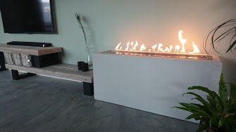 Step-by-step: Creating a movable decorative fireplace