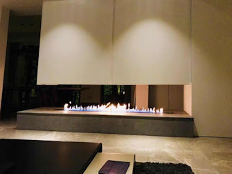 How do I make my own dream fireplace?